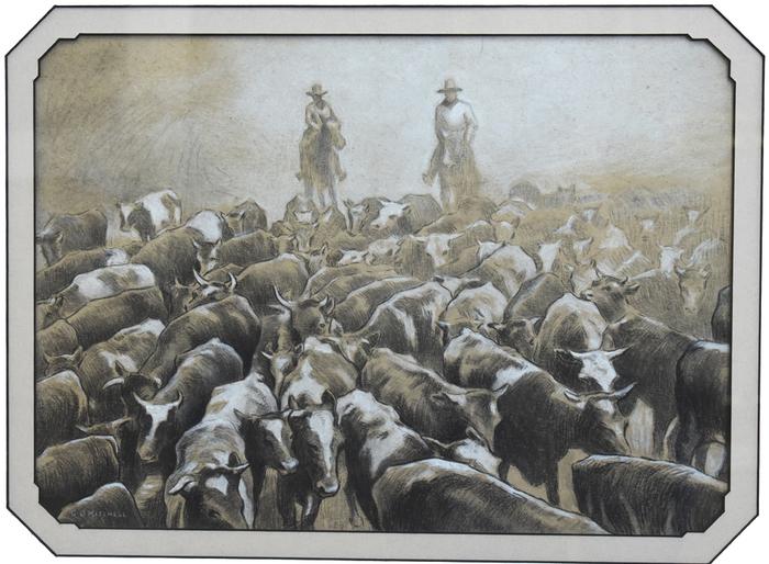 """""""Herding Cattle"""""""