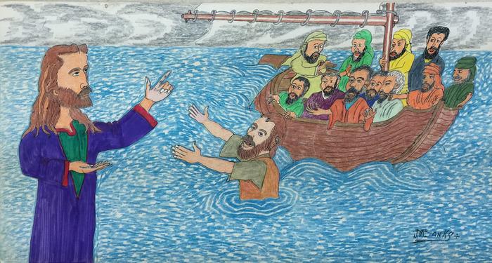 """""""Peter Walks The Water"""""""