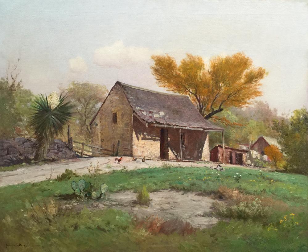 Porfirio Salinas Quot Irish Flats Quot 1407 Texas Art