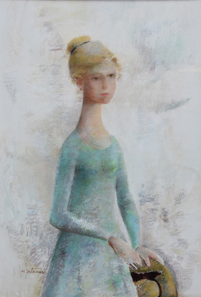 """Portrait of Young Lady"""