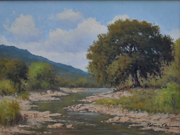 """Hill Country Stream"""