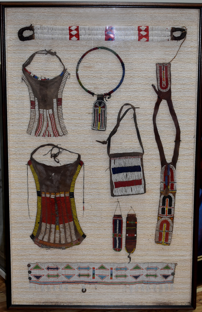 """Belts, Necklaces, Other Bead Work"