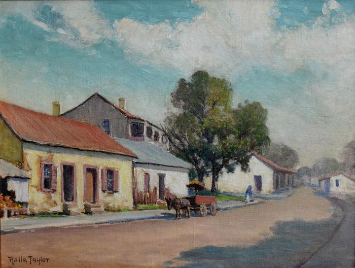 """Old Mexican Quarter, San Antonio"" North Laredo Street Houses"