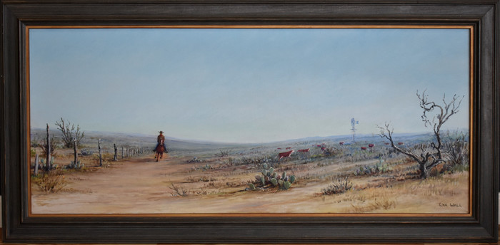 """HEADIN' HOME"" ""PAINTED NEAR ENCINAL TEXAS"