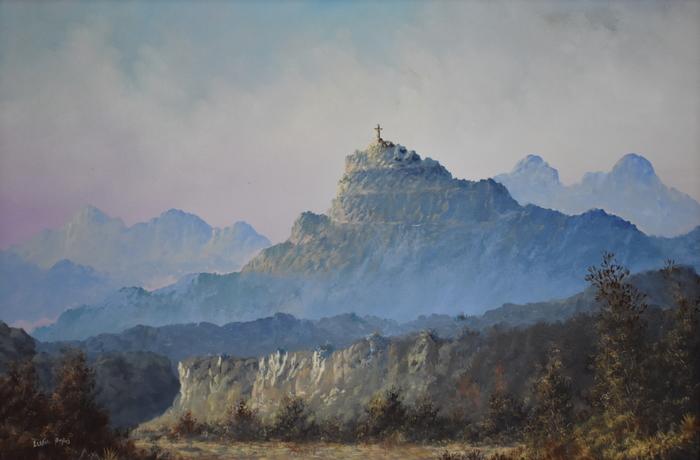 """""""Mount Cristo Rey""""  El Paso Side"""
