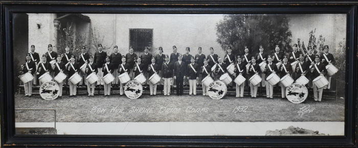 """Ben Hur Shrine Drum Corps"""