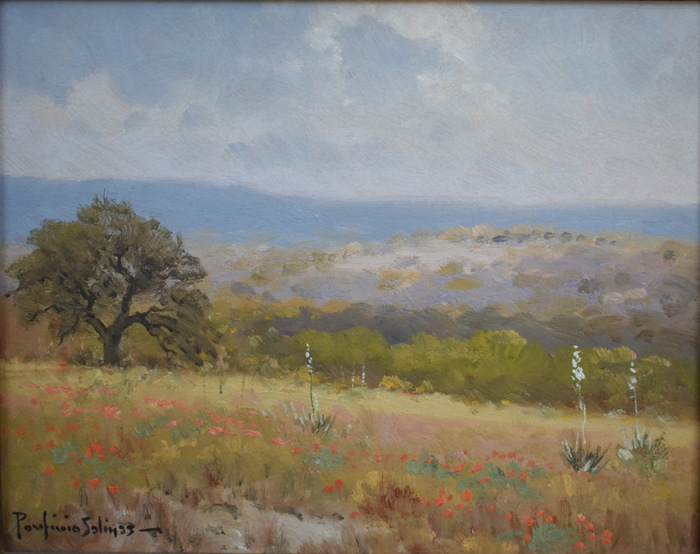 """Indian Paintbrush & Cactus"""