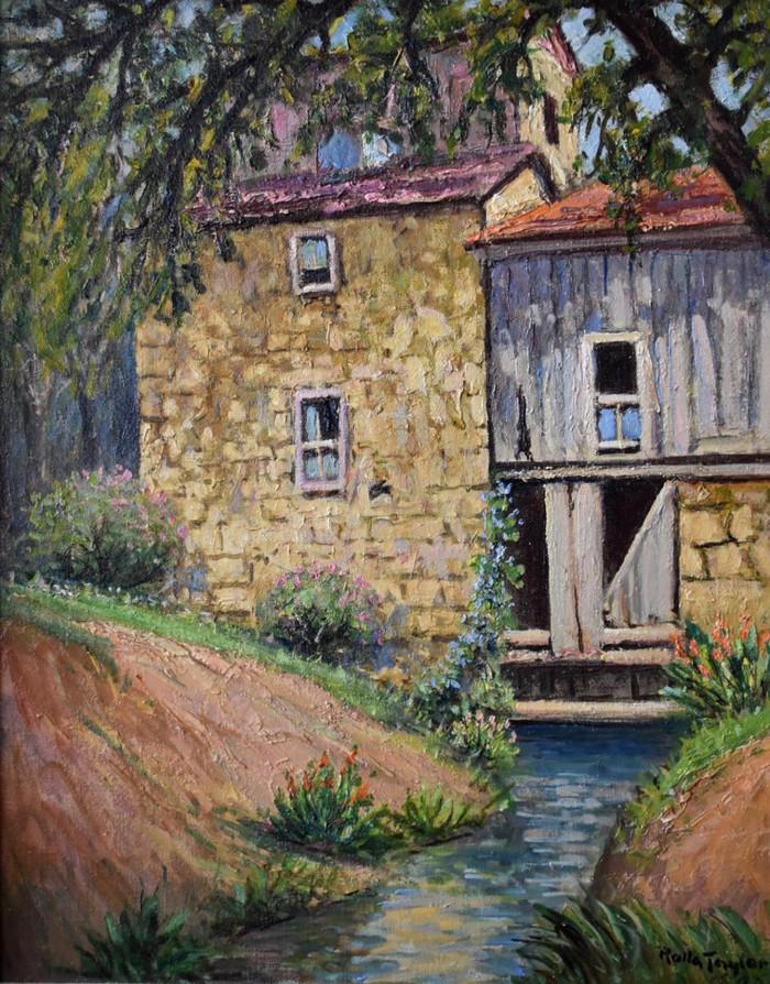 """The Mill House Landmark Inn Castroville Texas"""
