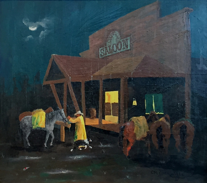 """Rainy Night At The Oxbow"""