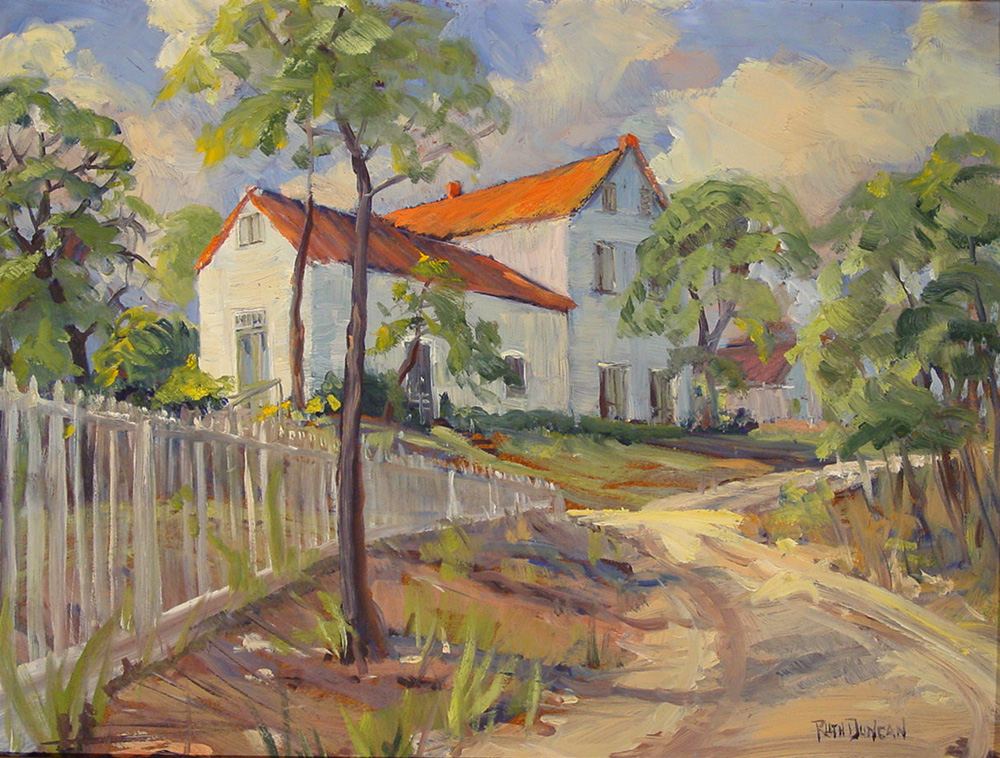 Ruth Duncan Paintings Vintage Texas Paintings