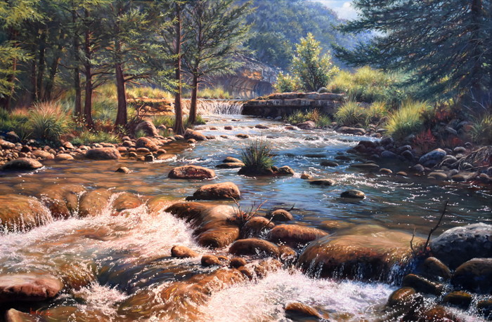"""Texas Hill Country Rapids"""