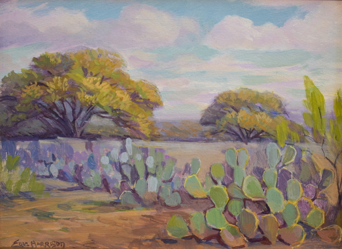 """Huisache and Cactus"""