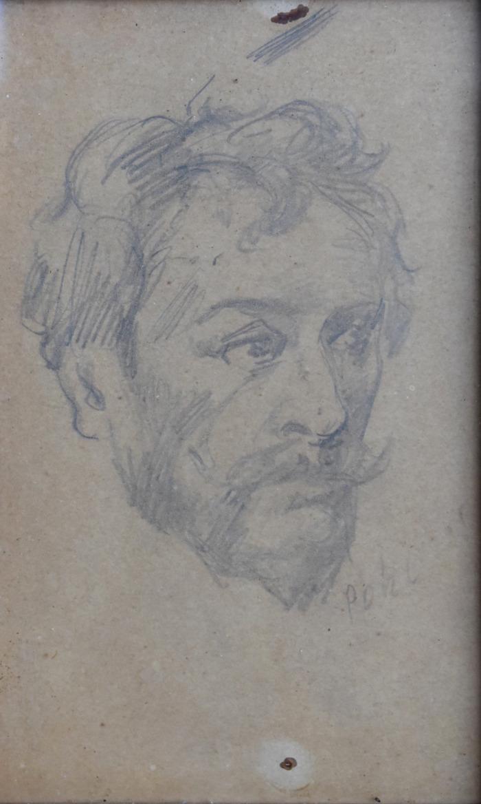 """""""William Merritt Chase"""" Portrait"""