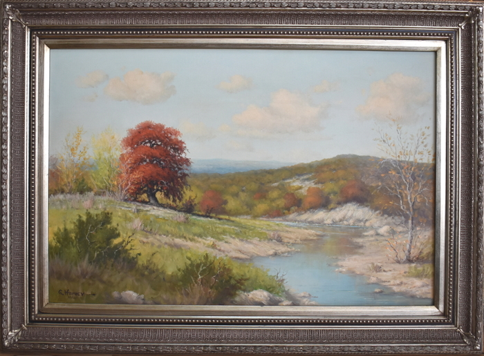 """Red Oak Texas""  River Scene"