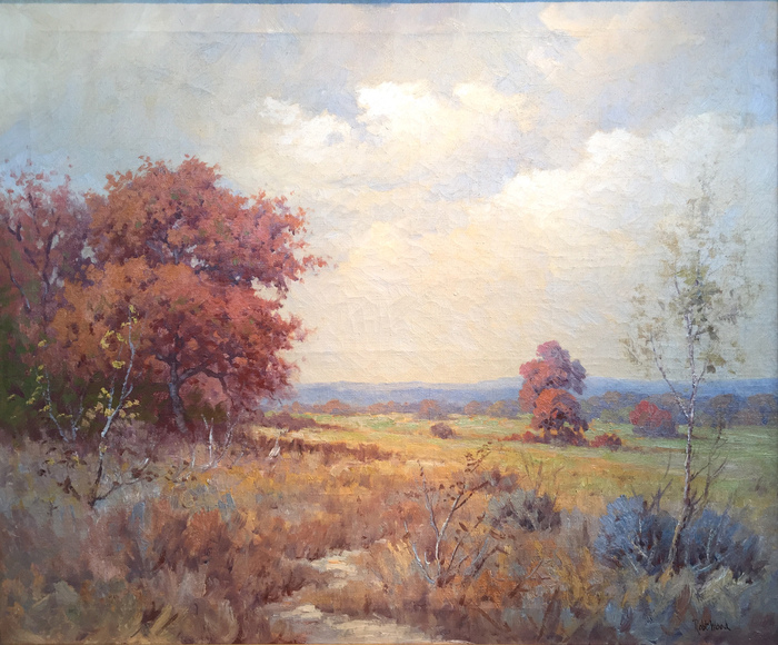 """Texas Hill County Autumn"""