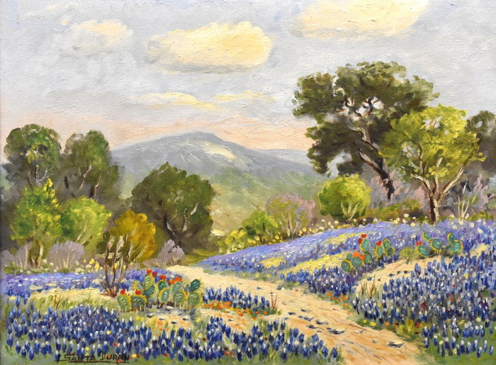 """Country Road"" Bluebonnet"