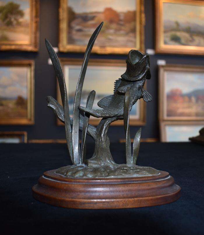 Amistad Reservoir Fishing Trophy