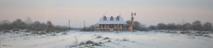 """West Texas Snow"""