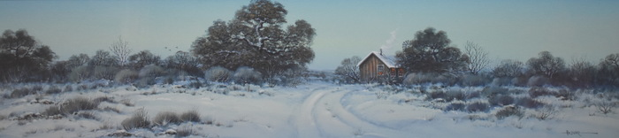 """Texas Hill Country Snow"""