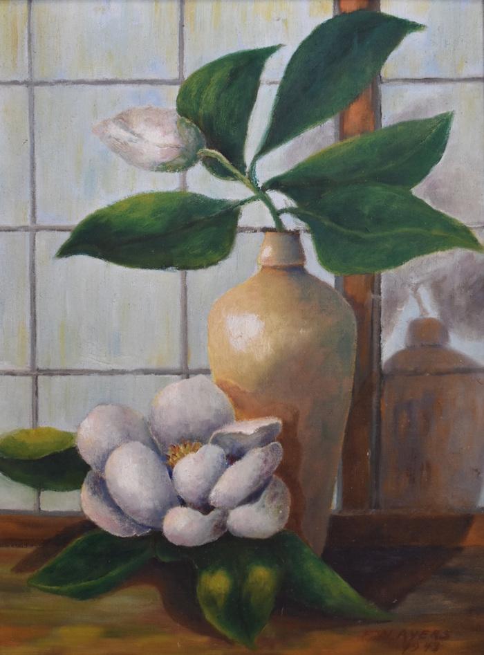 """""""Still Life Magnolias, 1943"""""""