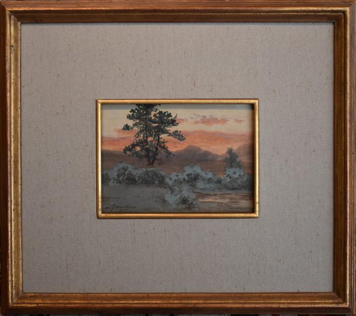 """Sunset on Fish Creek, Estes Park, Colorado"""