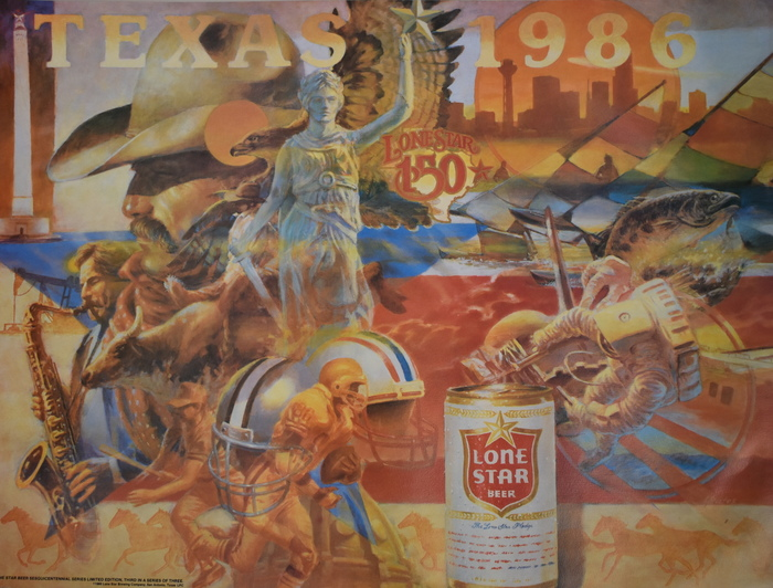 Texas 1986 - Lone Star Beer