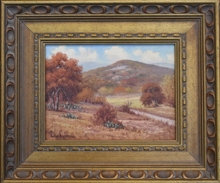"""To My Friend Hoppe, From Pedro Lazcano, Hills of Bandera, Tex"""