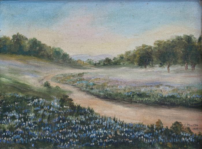 """""""Bluebonnet Landscape"""""""