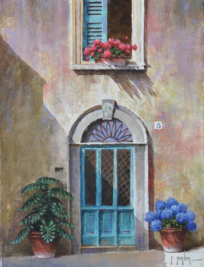 """""""Blue Door #5"""""""