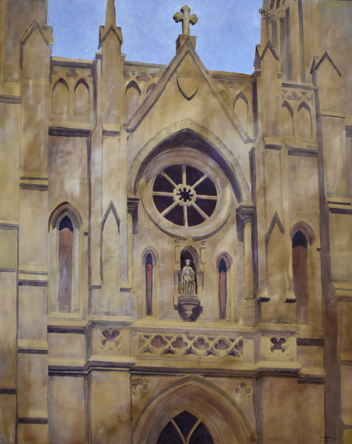 """Facade of San Fernando Cathedral"""