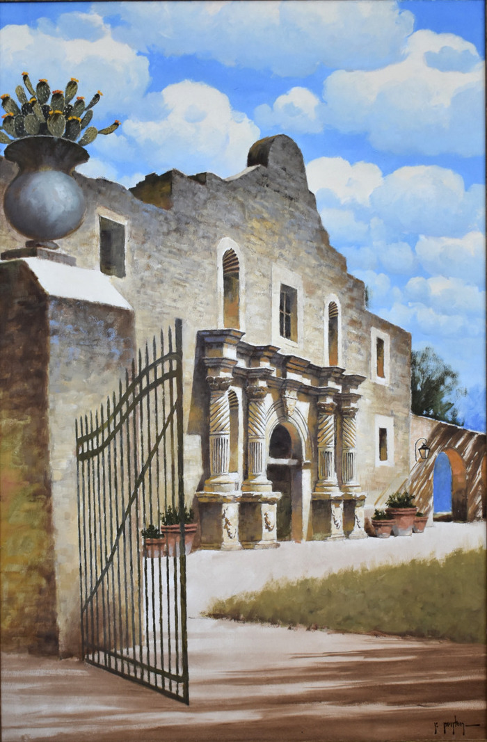 """Gate to The Alamo"""
