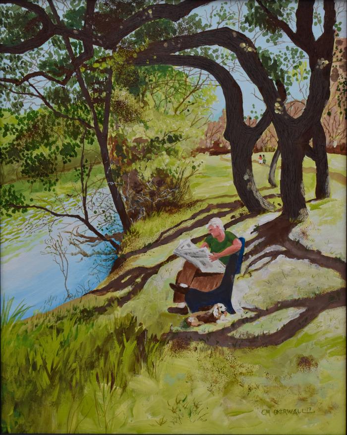 """A Day On Salado Creek"""