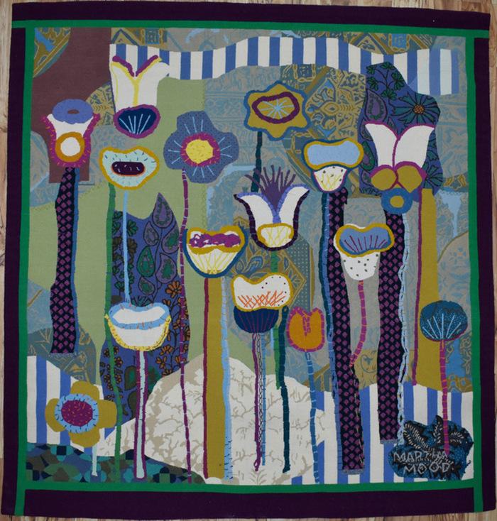 """Floral Summer Garden Modern"""