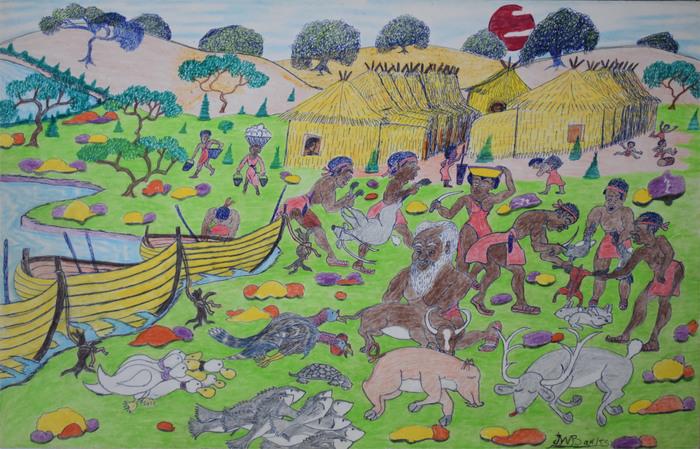 """""""African Village"""""""