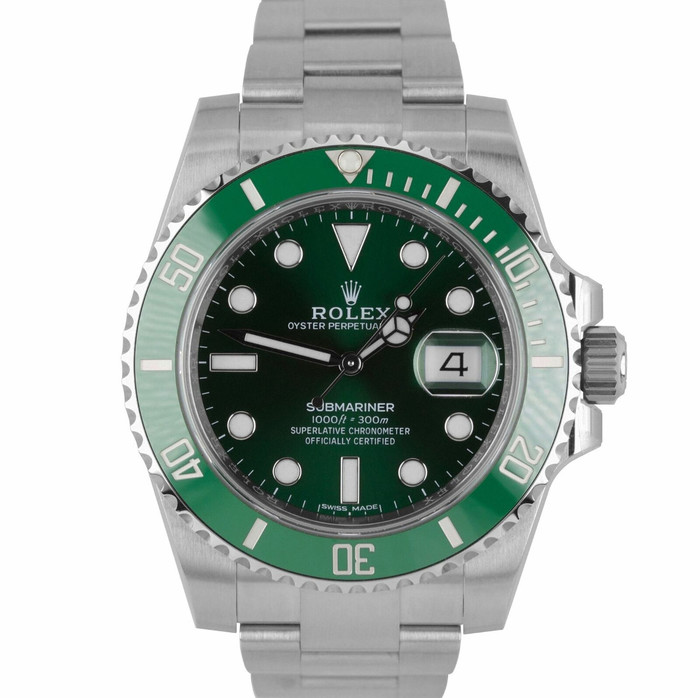 Brand New Never Worn Rolex Date Submariner Hulk