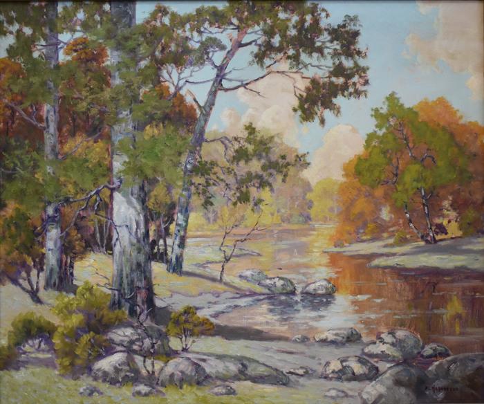 """Texas Fall Landscape"""