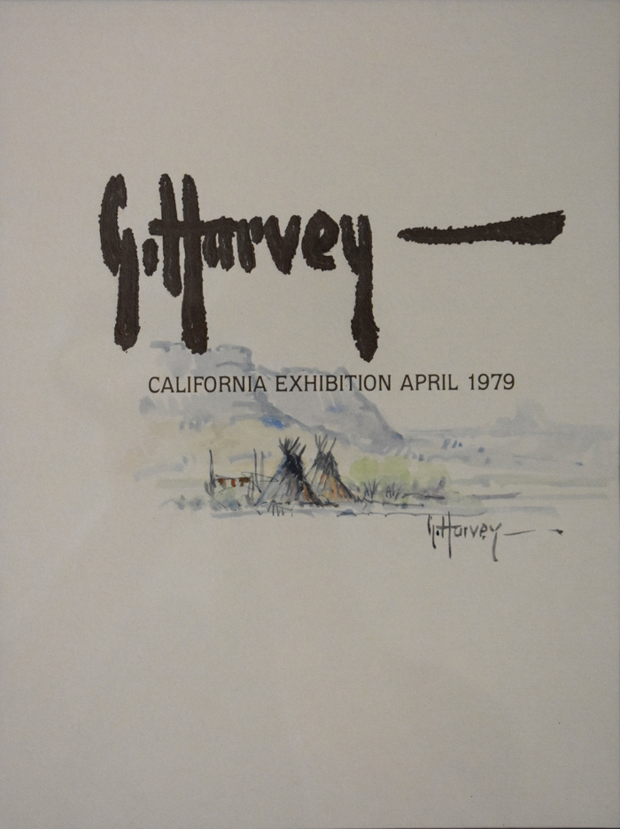 "''Original California Exhibition"" Painting on Cover"