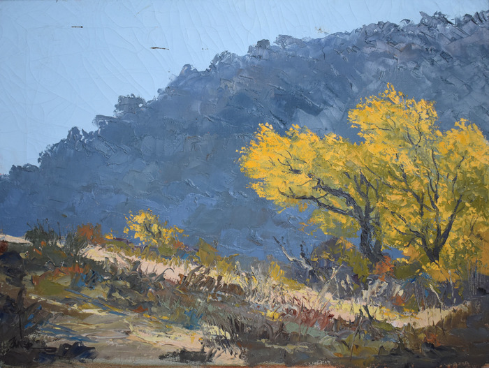 """Landscape with Yellow Tree"""
