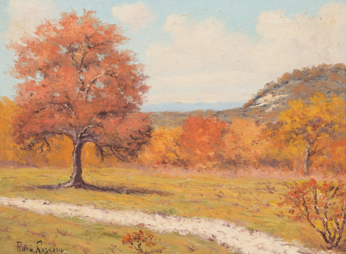 """Autumn Trail""  Hill Country Fall"
