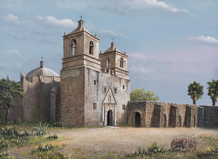 """Mission Conception"" San Antonio Texas"