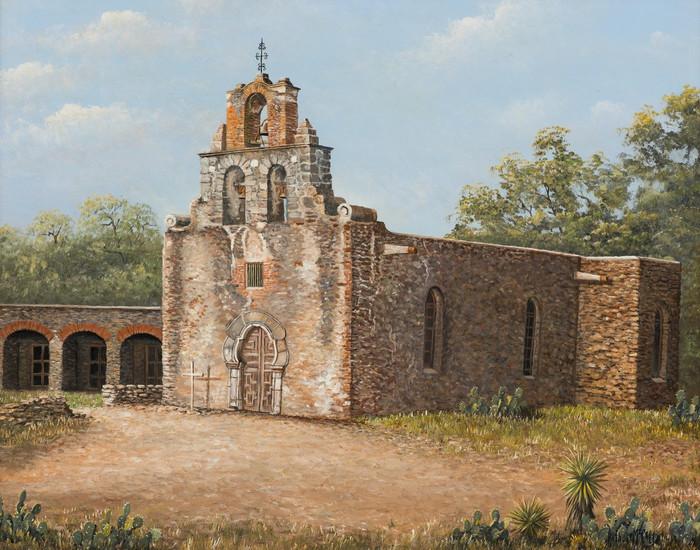 """""""Mission Espada"""" San Antonio Texas"""