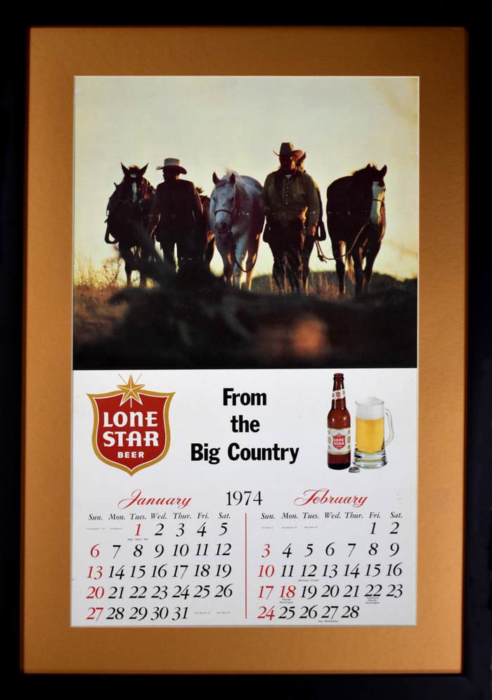 """Lone Star Calendar"" Jan-Feb 1974"