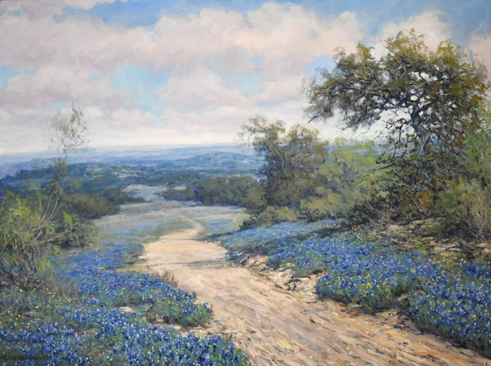 """A Texas Trail""  Bluebonnet"