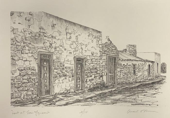 """Fort at San Ygnacio""  Zapata County"