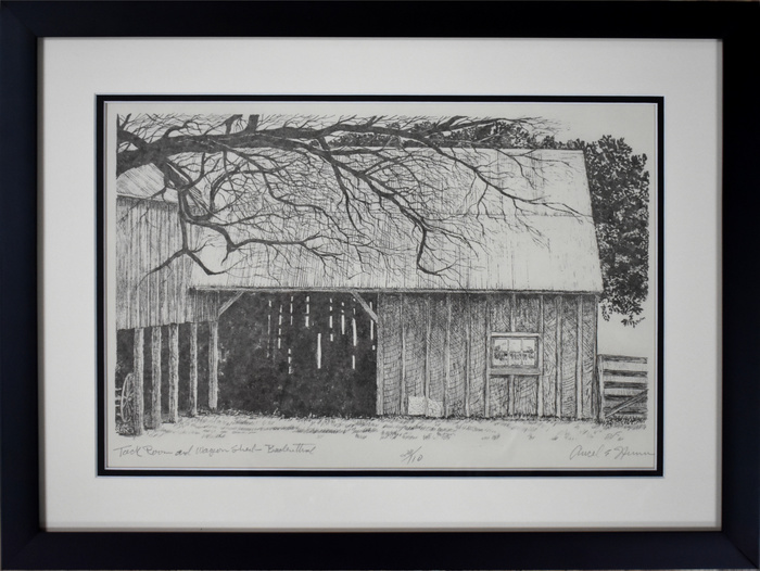 """Tack Room and Wagon Shed"" Badenthal"