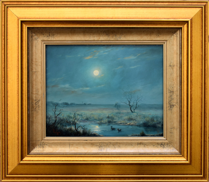 """Moonlit Pond"""