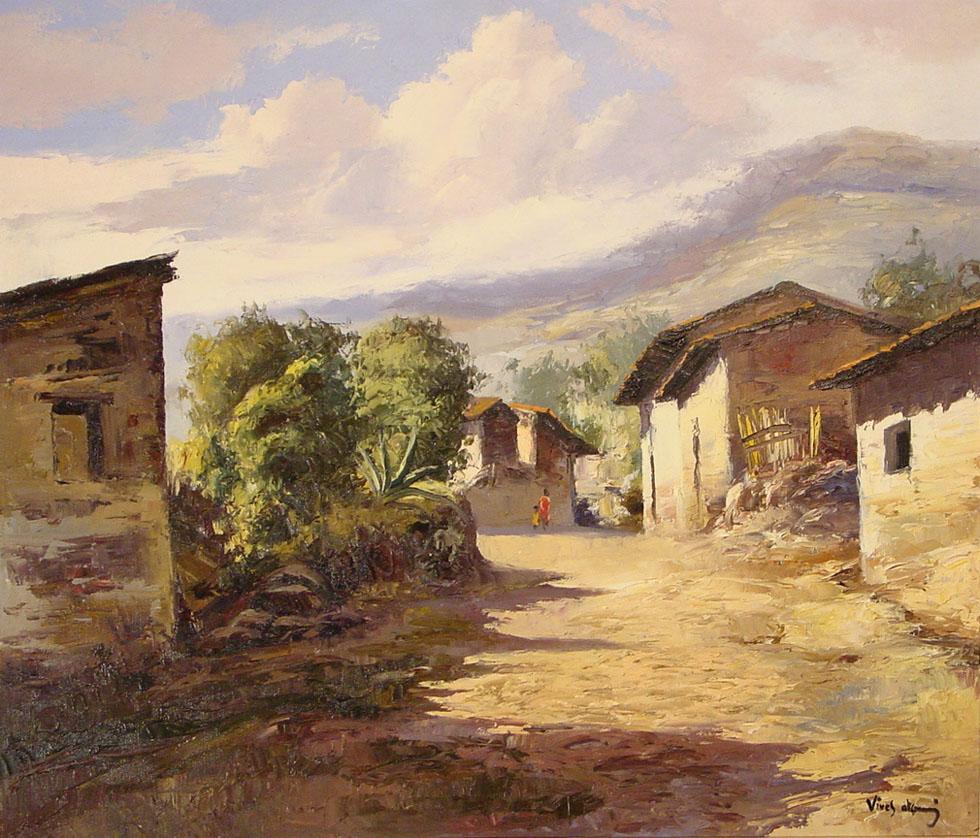 Hacienda Oil Paintings