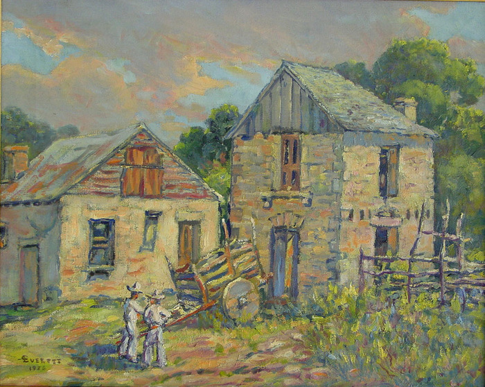 """""""Texas Farm with Mexican Workers''"""