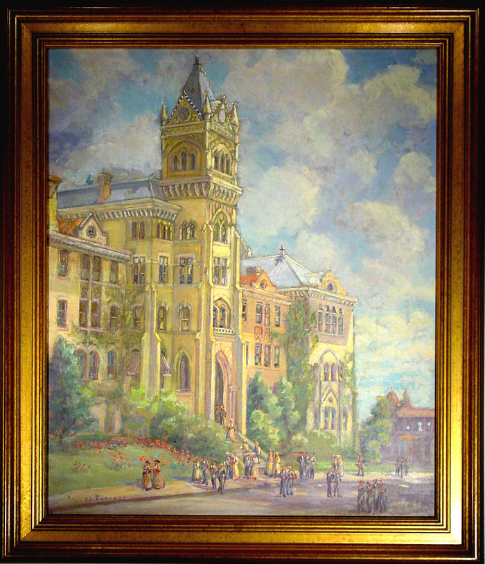 (The Old Main Building University of Texas)