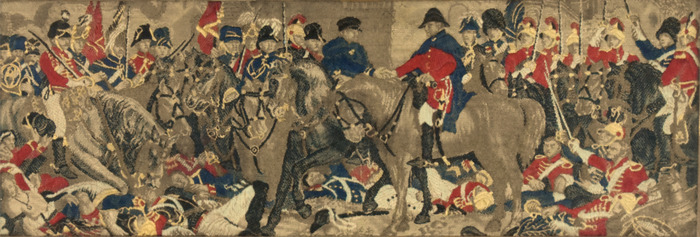 """Wellington and Blugher After the Battle of Waterloo"""